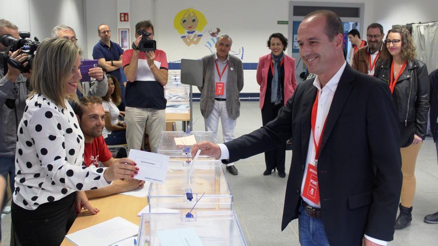 Alberto Rojo (PSOE), este domingo