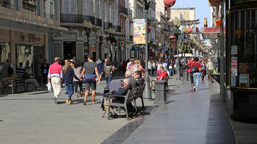 Calle Mayor de Triana, en Las Palmas de Gran Canaria.