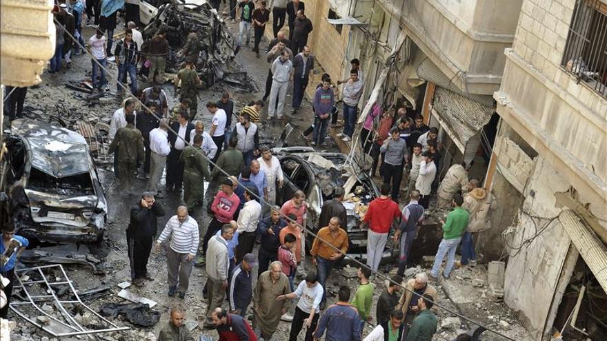 Cuatro muertos y 30 heridos en un nuevo atentado en la ciudad siria de Al Hasaka