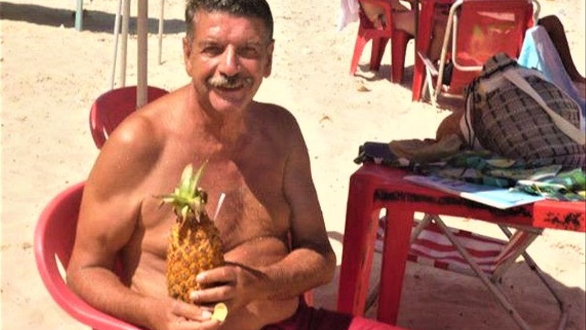 La prensa uruguaya reprodujo fotos de El Burro descansando en el noreste de Brasil en 2014