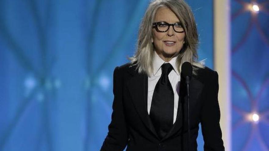 Diane Keaton sale a defender a Woody Allen