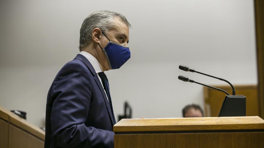 """Urkullu cifra en 6.650 millones de euros la """"factura"""" que Euskadi ha tenido que pagar en 2020 por la pandemia"""