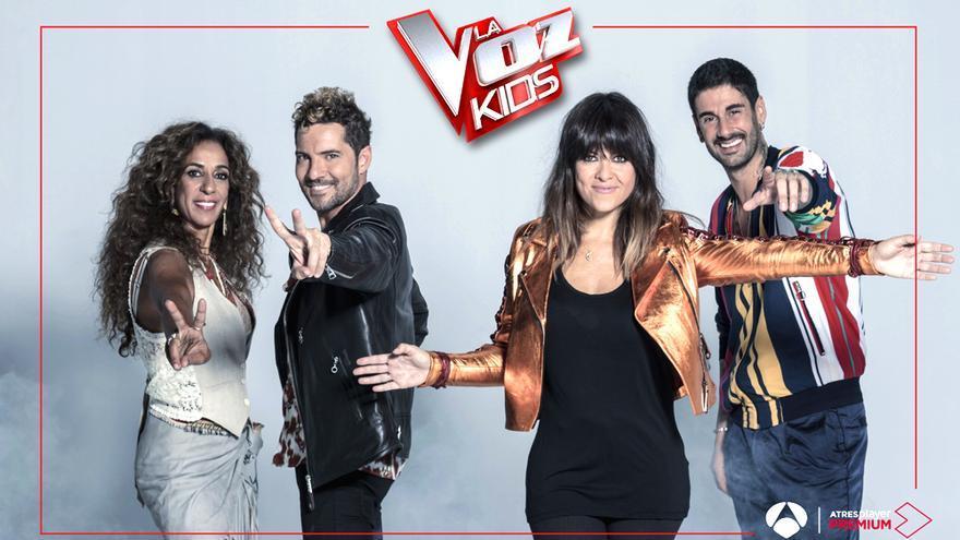 Los coaches de 'La Voz Kids'