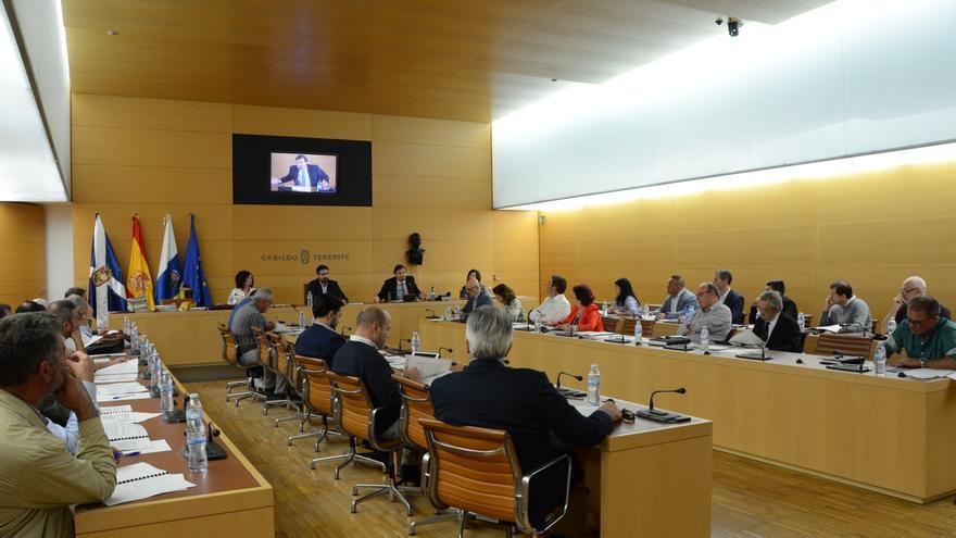 Reunión de la Junta General del CIATF celebrada este jueves en el Cabildo de Tenerife