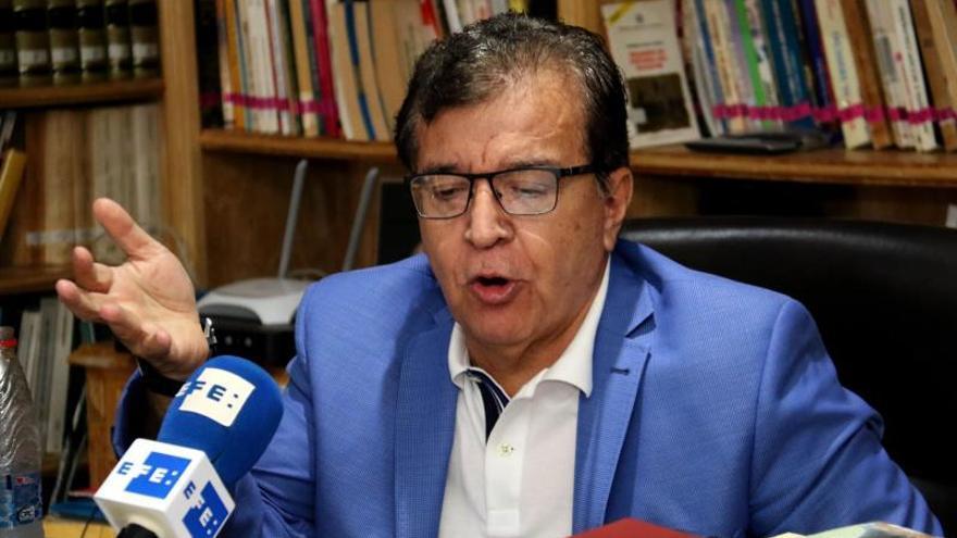 En la imagen el expresidente paraguayo Nicanor Duarte.