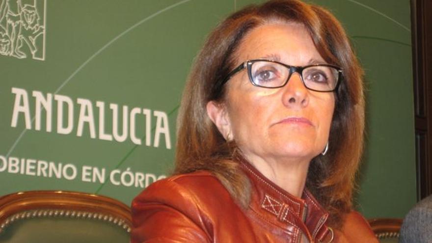 La exdelegada de Educación, Cultura y Deportes de la Junta en Córdoba, Manuela Gómez.