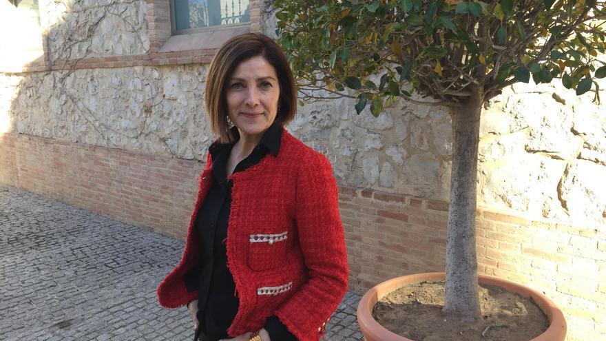 La candidata a la Secretaría General del PSPV en València ciudad, Maite Girau