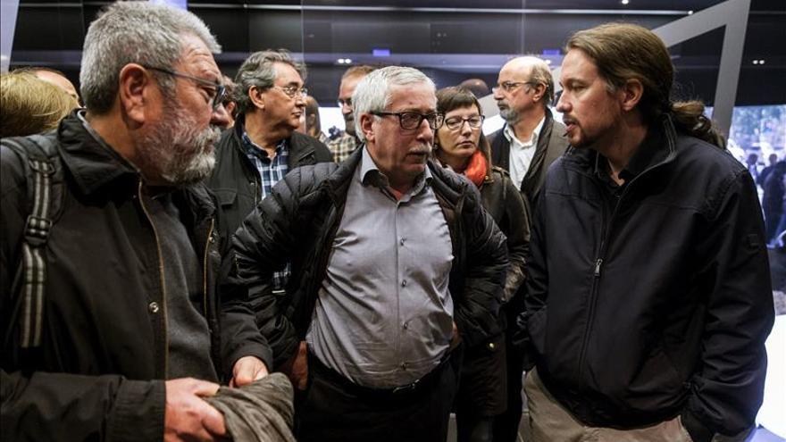 Pablo Iglesias cree que la CEOE es más dialogante que el Gobierno de Rajoy
