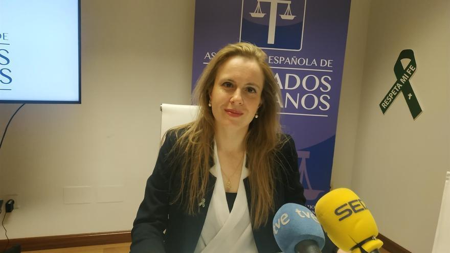 La presidenta de Abogados Cristianos, Polonia Castellanos.