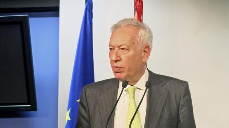 Margallo planea viajar a Irán próximamente tras el levantamiento de sanciones