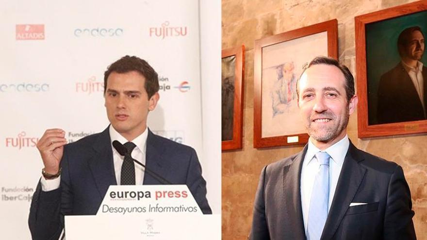 Rivera ficha a Bauzá para la lista de Ciudadanos al Parlamento Europeo, que irá en el quinto puesto