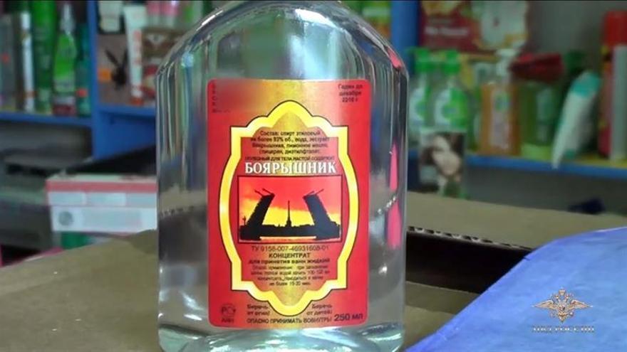 Ascienden a 71 los muertos en Siberia por intoxicación con loción de baño