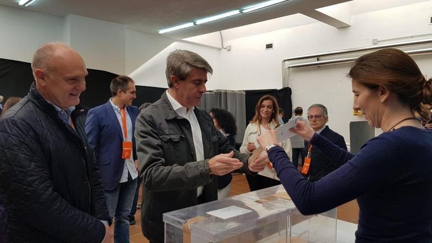 """Garrido vota por primera vez a Cs tras su salida del PP: """"Acabo de ejercer mi derecho al voto en libertad"""""""