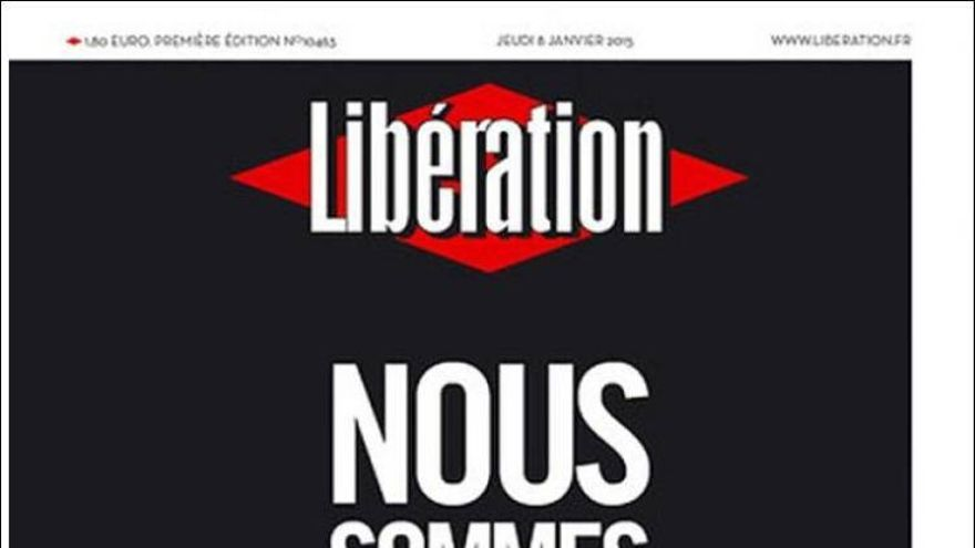 'Nosotros somos todos Charlie' - Libération