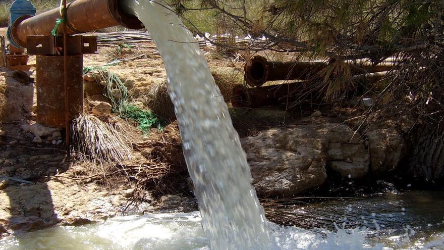 Pozo de sequía en Hellín (Albacete)