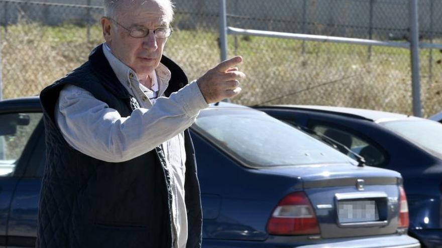 El expresidente de Bankia, Rodrigo Rato, el día de su ingreso en prisión.