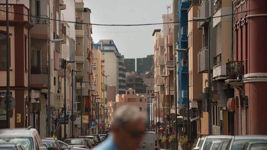 Imagen de archivo de la calle de Salamanca, en la capital tinerfeña