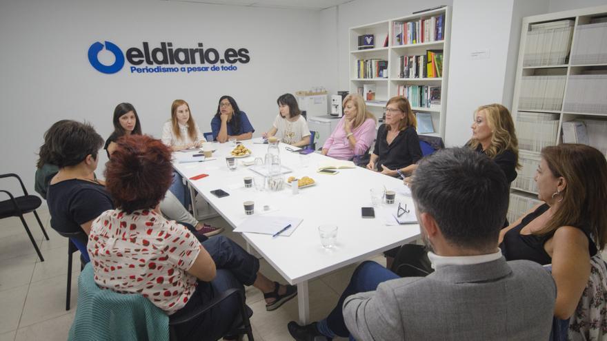 Nuestro encuentro con columnistas en la redacción de eldiario.es