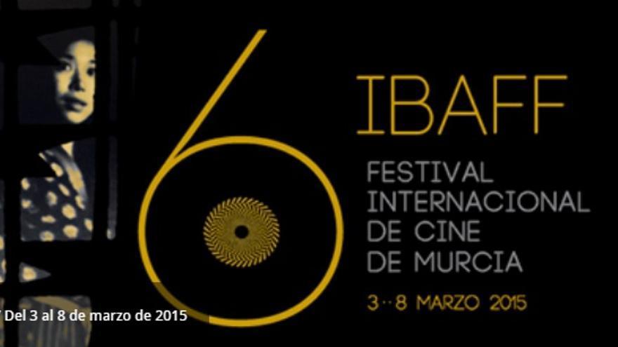 Cartel de la sexta edición del Festival Internacional de Cine de Murcia, IBAFF