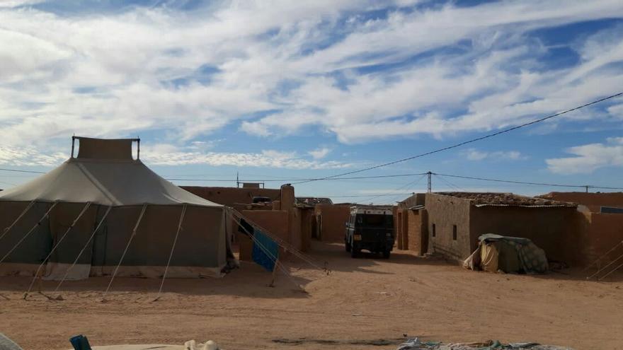 Campamentos de refugiados saharauis.