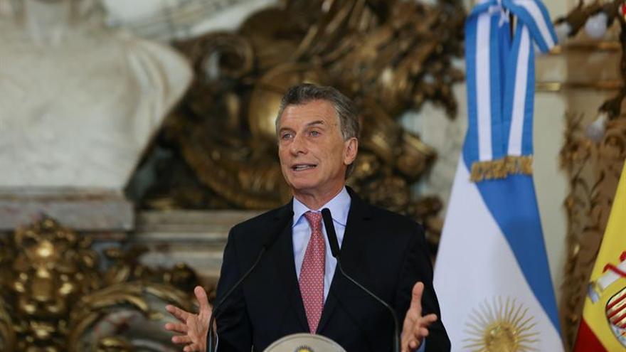 """Macri destaca los """"esfuerzos como nunca antes"""" del Estado para impulsar el turismo"""