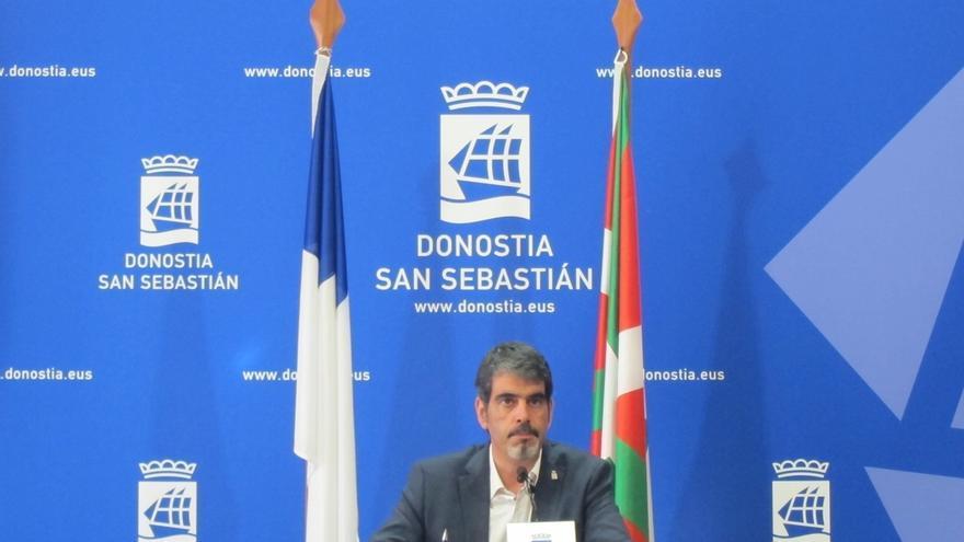 """Goia dice que la ordenanza de pisos turísticos busca proteger San Sebastián como """"una ciudad para vivir"""""""