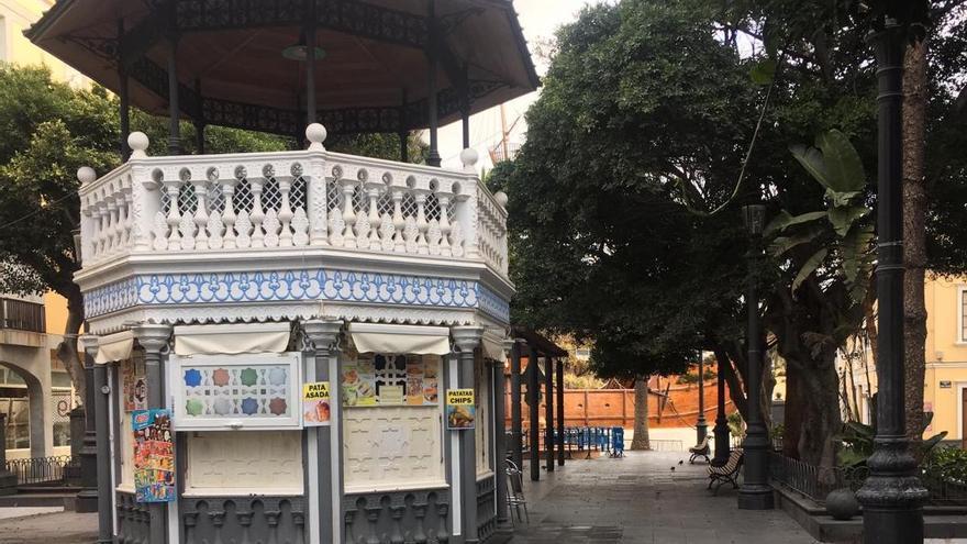 La Plaza de La Alameda este domingo.