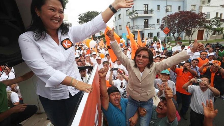 Piden excluir de elecciones a candidato a vicepresidente de Keiko Fujimori