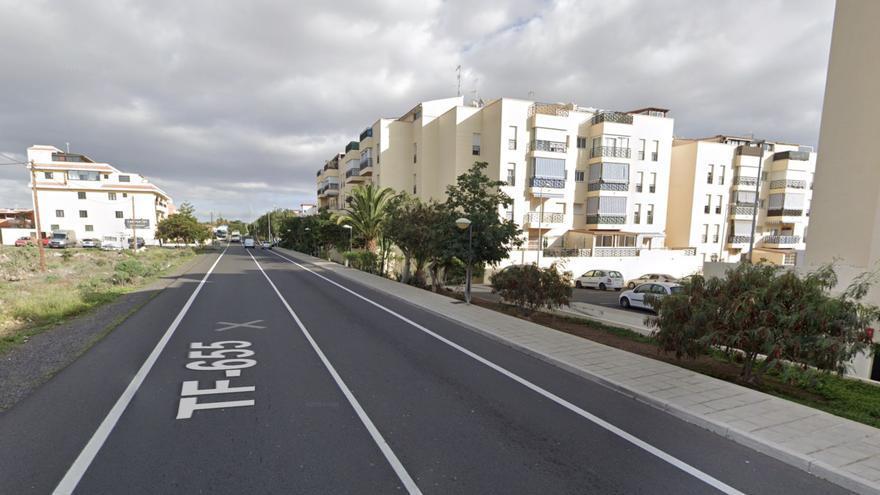 Un accidente de tráfico deja tres heridos en Tenerife, entre ellos una niña de cuatro años
