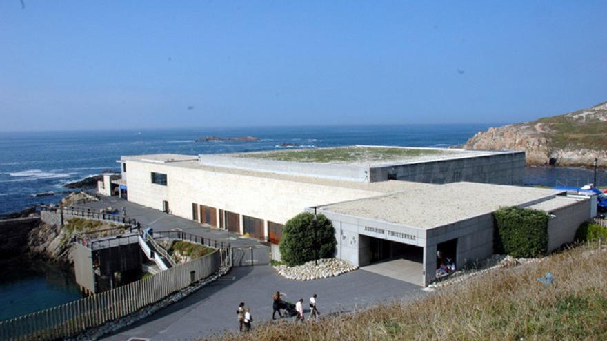 Acuario de A Coruña, donde el testigo tiene su puesto de trabajo