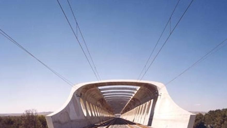 El Corredor Mediterráneo llegará a Almussafes (Valencia) en 2015 y a Murcia y Cartagena, en 2016