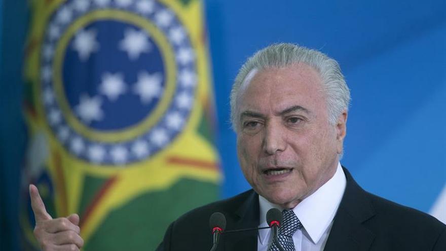 La justicia de Brasil emplaza a Temer a entregarse este jueves o será capturado
