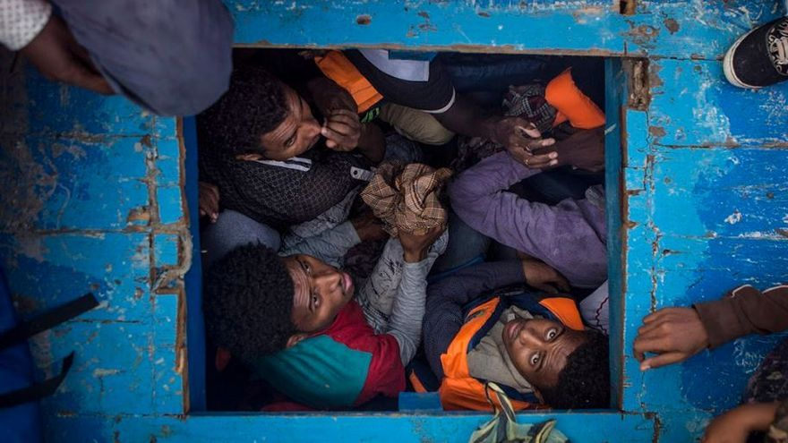Mediterranean Migration / Mathieu Willcocks, UK