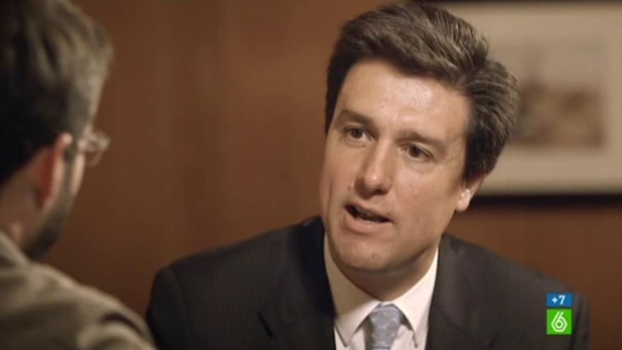 Ismael Clemente, presidente y consejero delegado de Merlin Properties, en una entrevista televisiva. LA SEXTA