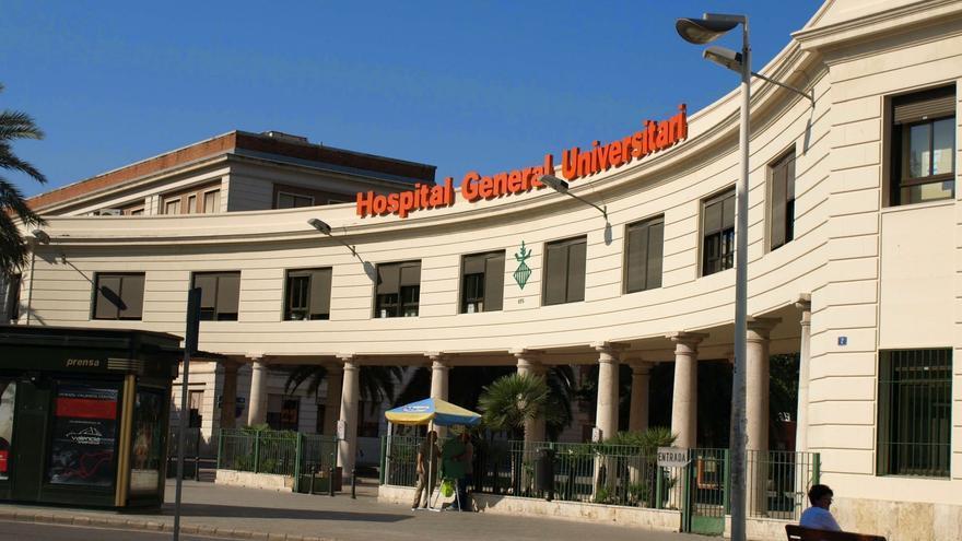 Los accesos al Hospital General de Valencia