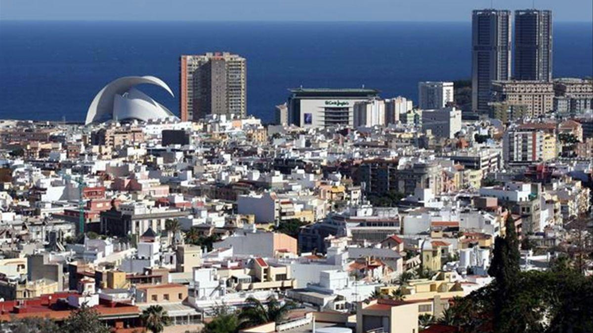 Vista panorámica de Santa Cruz de Tenerife