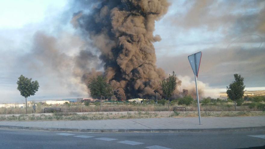Incendio en Chiloeches | Cadena Ser Guadalajara