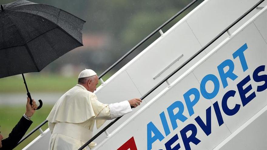 El papa abandona Polonia tras Jornada Mundial de la Juventud de Cracovia