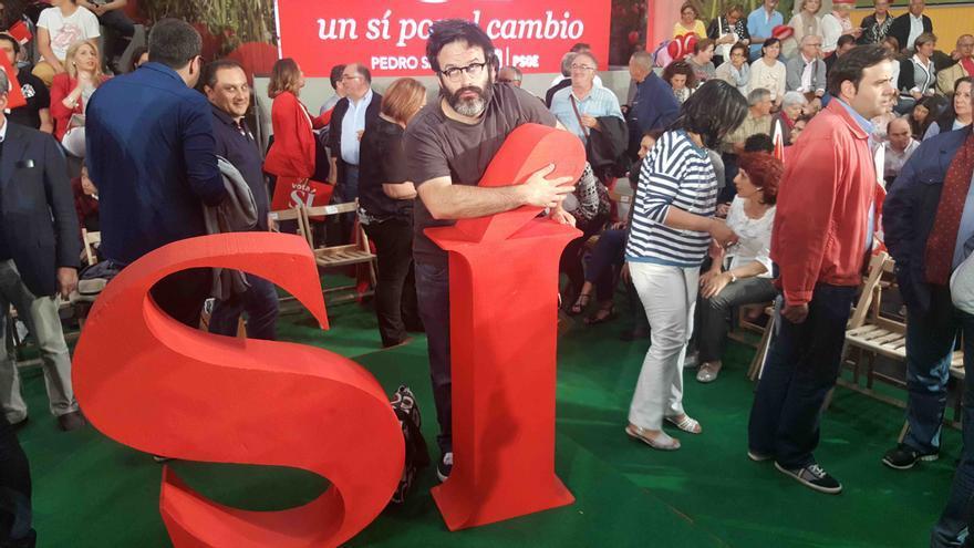 Mitin de Pedro Sánchez y José Luis Rodríguez Zapatero en Valladolid.