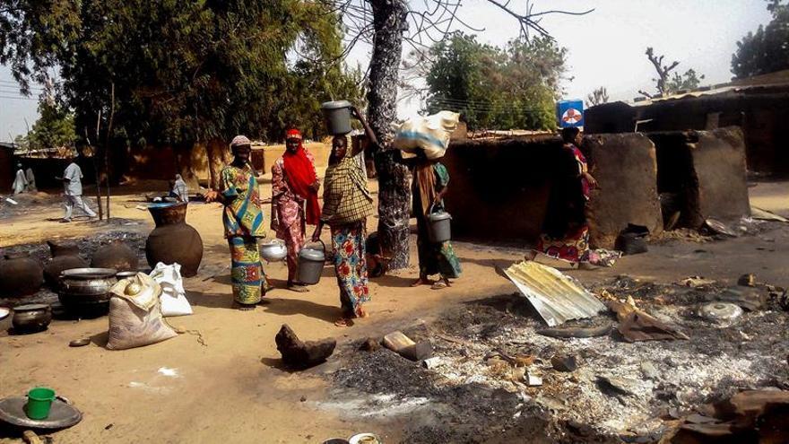 12 personas asesinadas en cinco ataques suicidas en noreste de Nigeria
