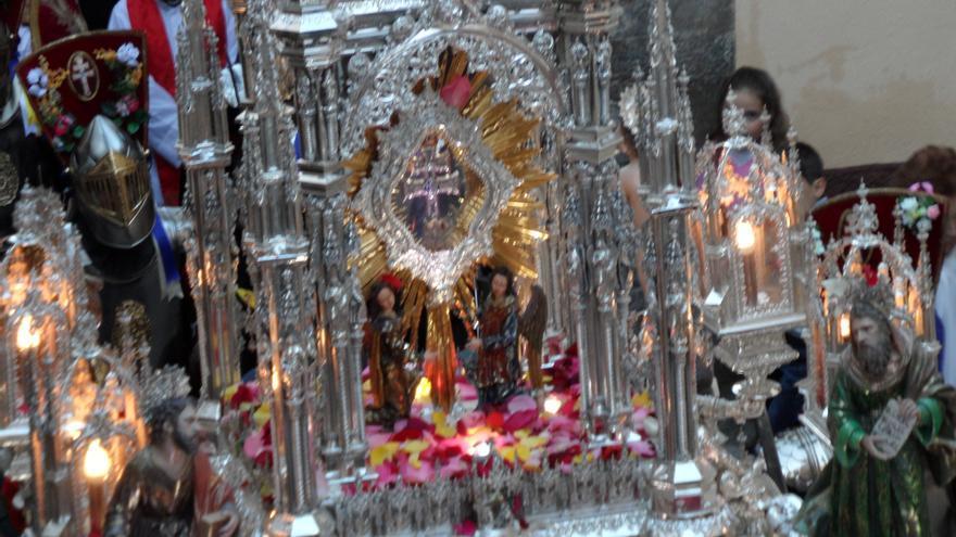 Procesión de la Cruz de Carvaca.