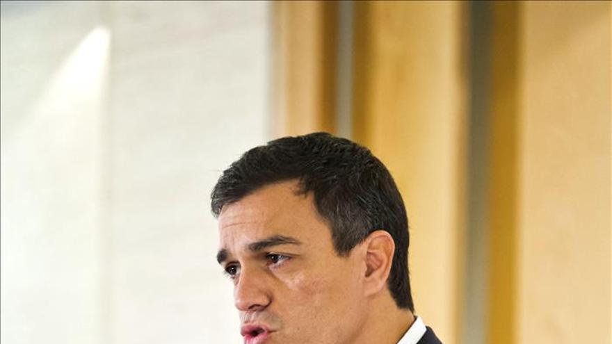 Pedro Sánchez apoya derogar el artículo de la Constitución sobre estabilidad