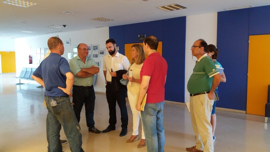 La Junta valora las actuaciones a realizar para poner en marcha el CIOMijas y contrata vigilancia 24 horas