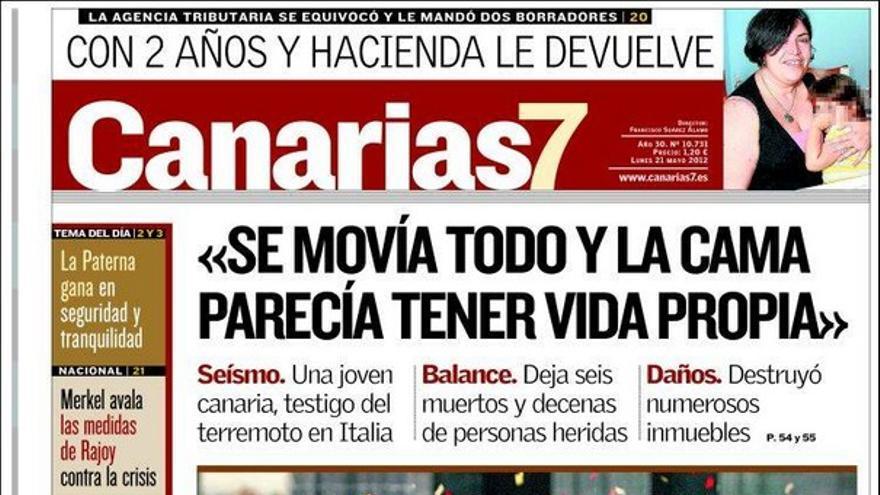De las portadas del día (21/05/2012) #2