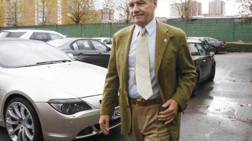 Francisco Pernía ocupó la presidencia del Racing entre los años 2006 y 2011. | RACING