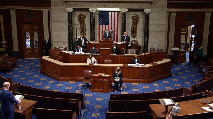 La Cámara Baja de EE.UU. aprueba un nuevo juicio político a Trump tras el asalto al Capitolio