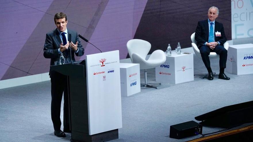 Pablo Casado interviene en el XXI Congreso Nacional de la Empresa Familiar en Valencia