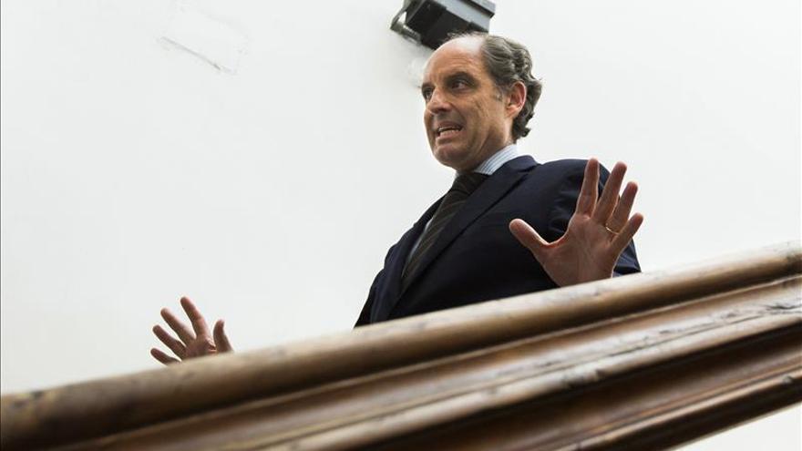 El juzgado abre diligencias por la F-1 contra el expresidente Francisco Camps