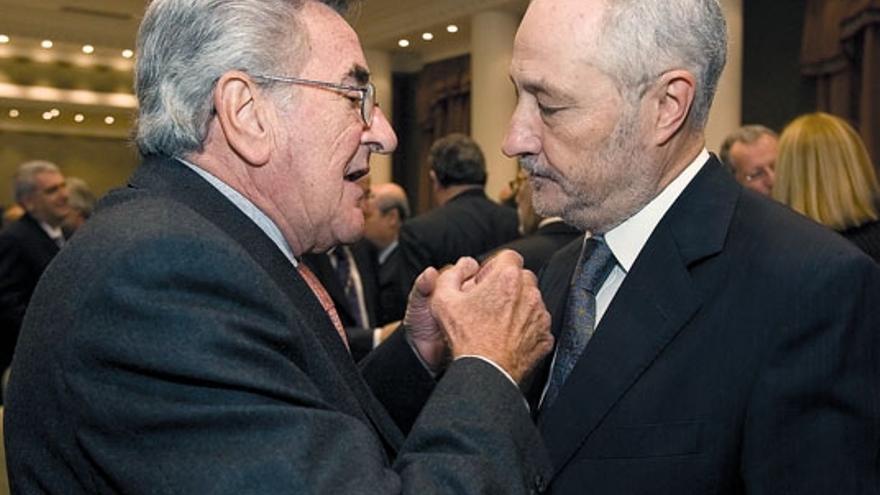 Manuel Hermoso y Adán Martín