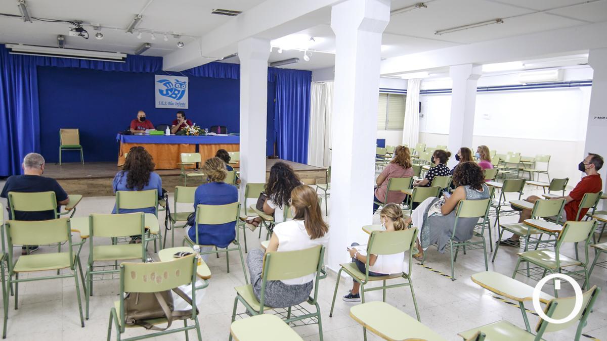 Reunión del AMPA del IES Blas Infante